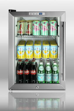 """Summit SCR312L Commercial Counter Top 18"""" Compact Refrigerat"""