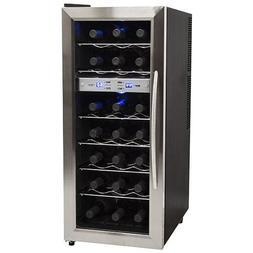 EdgeStar 21-bottle Stainless Steel Wine Cooler