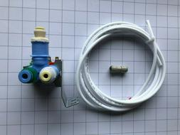 Whirlpool W10408179 Refrigerator Water Valve With Hose and F