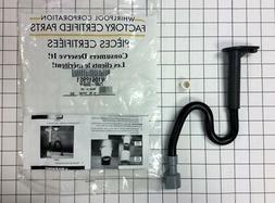 W10619951 Genuine OEM Refrigerator Drain Tube AP5780744, PS8