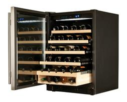 HAIER Wine Cooler 48 Bottle WC200GS NIB New Dual Zoned new i